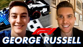 Formula 1 Driver George Russell on the U.S. Grand Prix, G-forces, and the NFL   Slow News Day