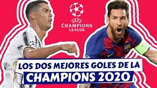 🔥 GOLAZO de MESSI vs Napoli | GOLAZO de CRISTIANO RONALDO vs Lyon [¿Cual es mejor?] Champions League