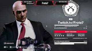 HITMAN 2 - Colombia - Three-Headed Serpent - Silent Assassin, Suit Only Speedrun (4:27) SA/SO
