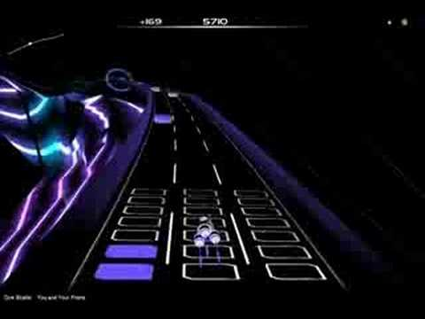 Audiosurf- dire straits- you and your friend