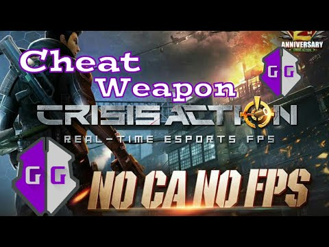 Tutorial Mencari Kode Senjata | Cheat Crisis Action