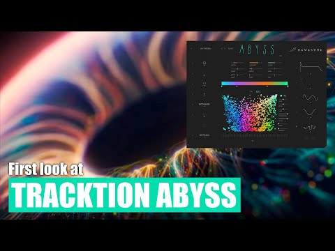 Visual synthesis? Let's check out Tracktion's new Abyss synthesizer.