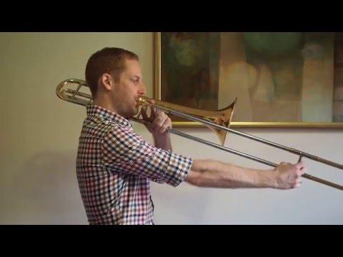 B Flat Major Scale  - Trombone