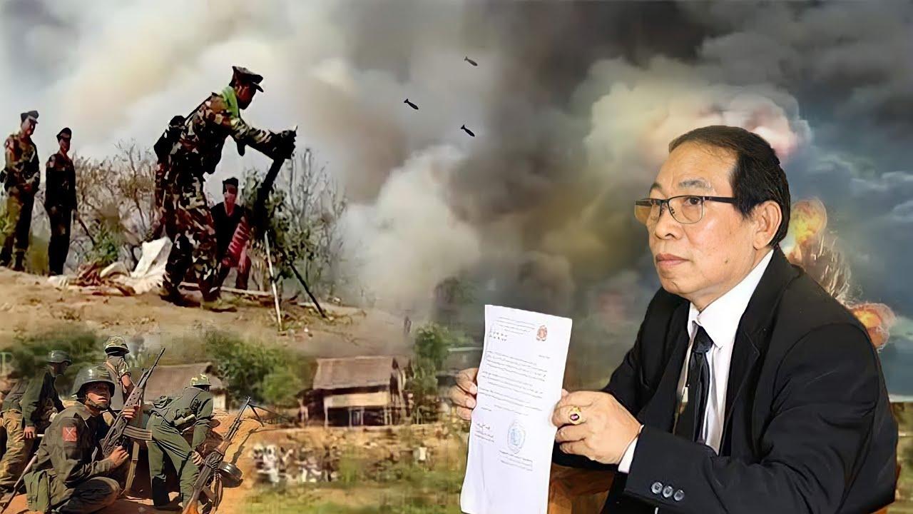ทหารพม่ายิงปืนใหญ่ เริ่มเปิดศึกกับRCSS ประเด็นที่ 2 เจ้ายอดศึกพูดภาษาไทยครับ