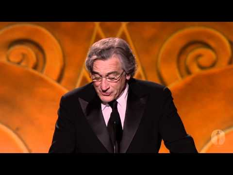 2010 Governors Awards  Robert De Niro on Eli Wallach