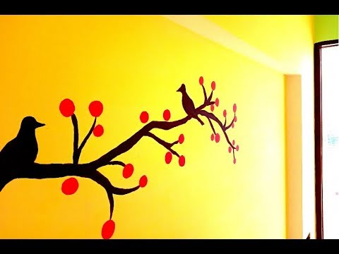Cherry Wall Painting For Bedroom Cherry Tree Branches Easy Wall