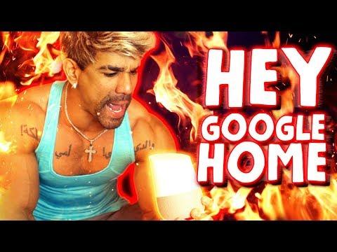 HEY GOOGLE HOME  VLOG 102