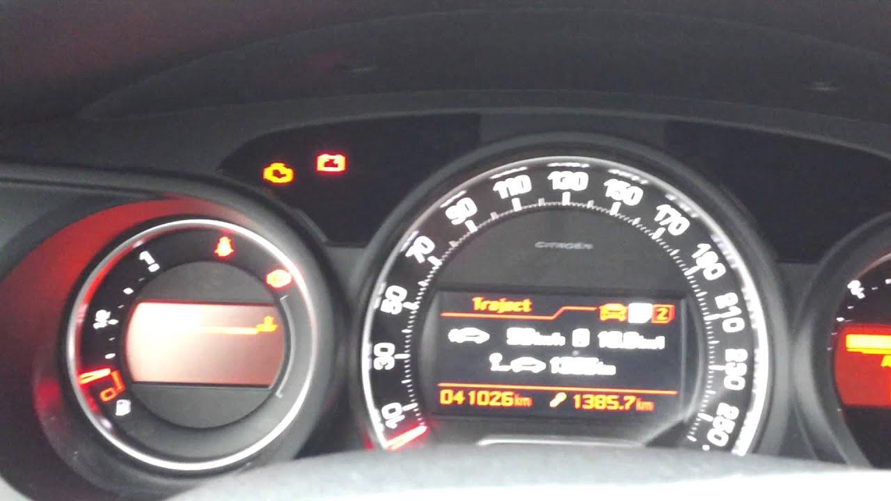 Start Up Citroën C5 1 6 E Hdi Tendence