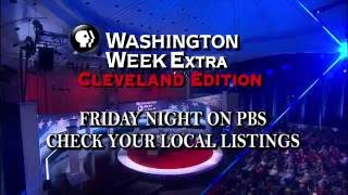 Friday from Cleveland: A special Washington Week EXTRA town hall