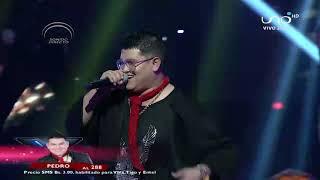 Pedro demostró ser un gran artista  | Noches de pasión |  Factor X Bolivia 2018