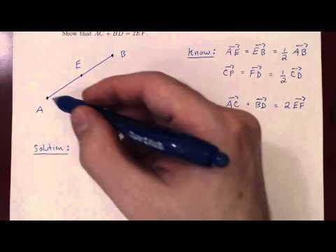 Geometric Vectors - Problem 2