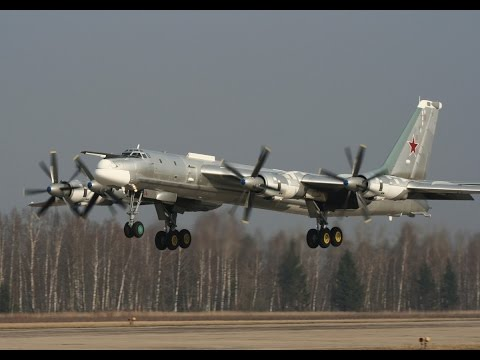 Сирия 2015- Ту-160 и Ту-95МС нанесли мощный авиаудар по ИГИЛ