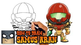 How to Draw Samus Aran | Metroid Prime