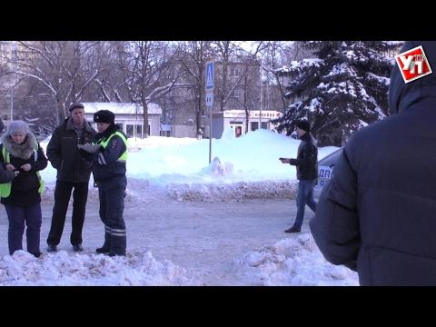 В Ульяновске маршрутка сбила женщину