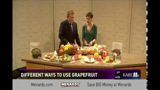 Great Ways to Enjoy Grapefruit (1/21/16 on KARE 11)