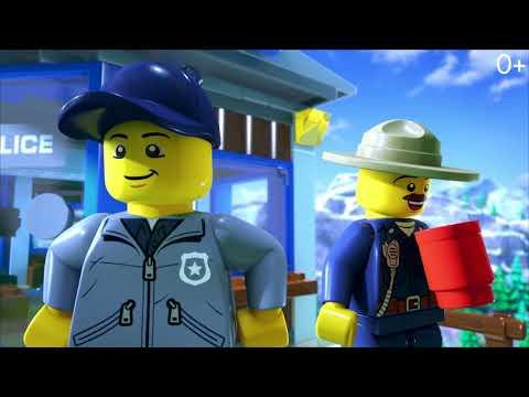 Лего сити онлайн мультфильм