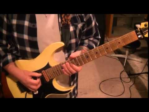 How to play Taking On The World Tonight by Michael Sweet on guitar by Mike Gross(CVT Lesson Part 1)