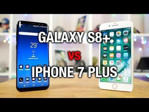 Samsung Galaxy S8+ vs Apple iPhone 7 Plus: Phablet fight!
