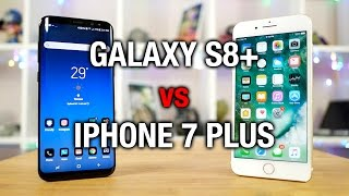 Samsung Galaxy S8+ vs Apple iPhone 7 Plus: Phablet fight!
