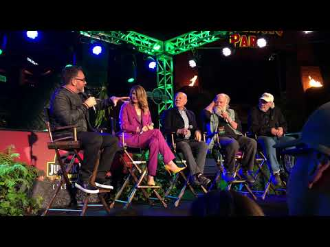 Jurassic Park Fan Event Saturday Panel Q and A at Universal Studios Hollywood
