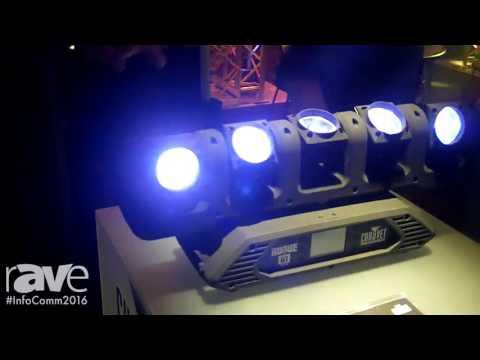 InfoComm 2016: Chauvet Professional Demos Its New Rougue R1 FX-B Light Fixture