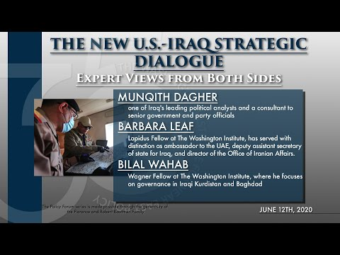 The New U.S.-Iraq Strategic Dialogue: Expert Views from Both Sides