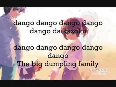 CLANNAD Dango Daikazoku Romaji + English Lyrics