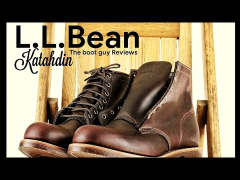 L.L.Bean Katahdin| built by Chippewa,USA [ The Boot Guy Reviews ]