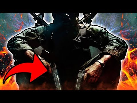 Why Is MASON Holding The MUSTANG & SALLY! Black Ops Zombies Storyline & Easter Eggs