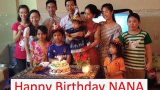 Happy Birthday NANA on December 11th 2014 in Phnom Penh, Cambodia