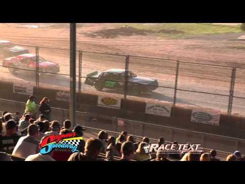 Seymour Speedway - June 8, 2014 - Street Stock feature race.