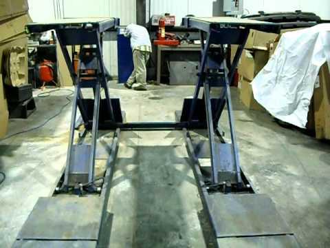 Bend Pak Model Sp 7x Specialty Lift Youtube