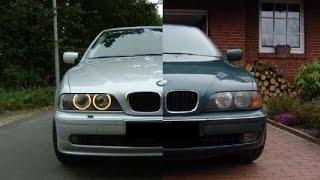 БМВ 525 - BMW E39 рестайл обзор.  AS тест драйв.  Перезалив со звуком мотора.