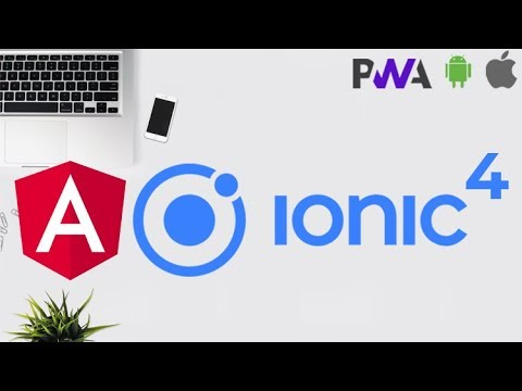 Udemy Course Alert: Ionic 4 - Build PWA and Mobile Apps with Angular