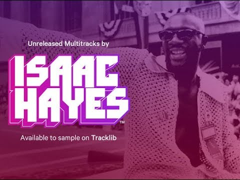 New Unreleased #IsaacHayes Masters Now Available On #Tracklib.