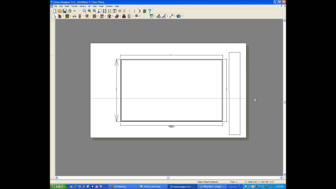 title block scaled printing in home designer any version youtube
