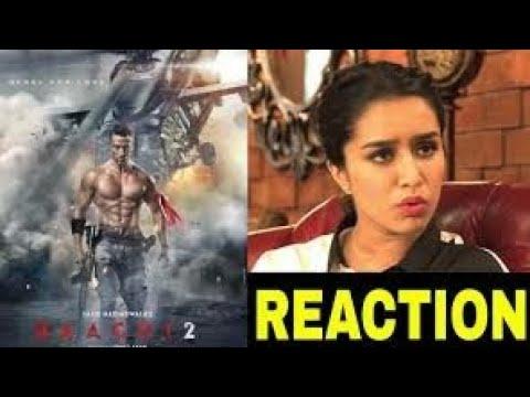 Bagghi 2 trailer reaction in celebrities