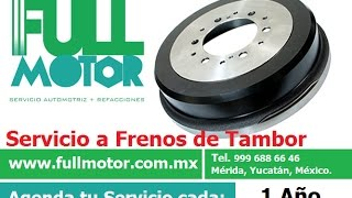 Video Freno Trasero (Tipo Tambor) FULL MOTOR - Mérida, Yuc. download MP3, 3GP, MP4, WEBM, AVI, FLV Agustus 2018