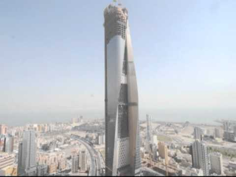 Al Hamra Tower Time Lapse 2010