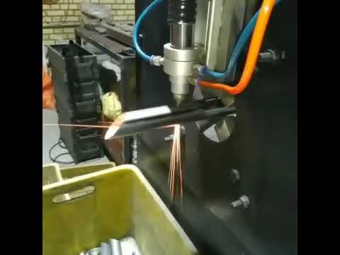 DIY CO2 laser cutter for steel pipe