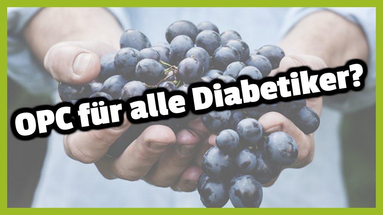 Traubenkernextrakt (OPC) bei Diabetes