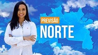 Previsão Norte - Temporais no AM e RR.