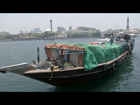 Dubai's ancient dhows look east to Iran and an end of sanctions