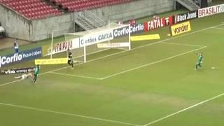 Goiás vence o Náutico na arena Pernambuco