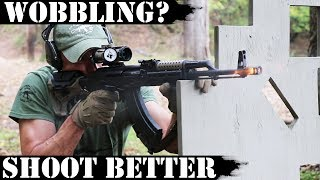 Rifle wobbling - improve your shooting!