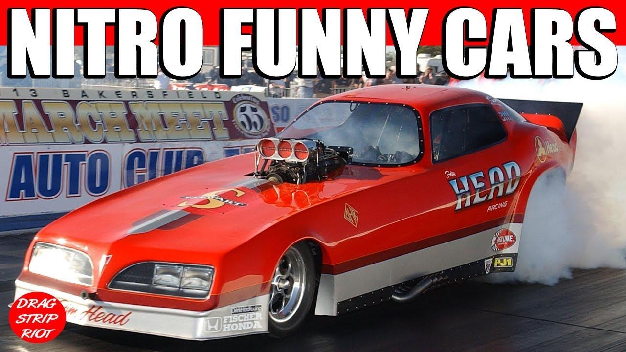2013 March Meet Bakersfield Nitro Nostalgia Funny Cars 1 4