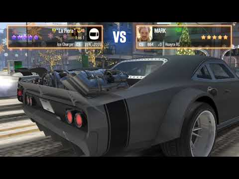 CSR2 Ice Charger full tune