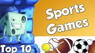 Top 10 Sports Games - with Tom Vasel