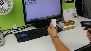 НТ-м2 433 МГц бездротовий лазерний сканер штрих-коду