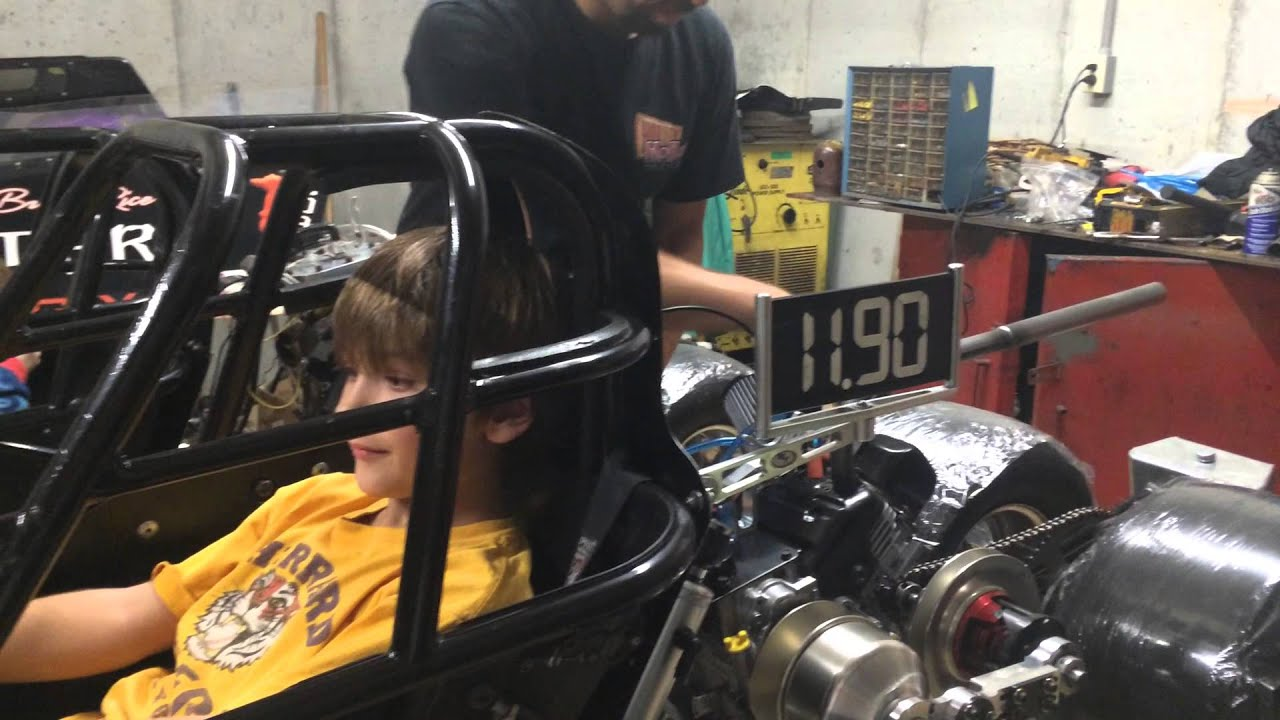Starting Briggs Lo 206 Jr  Dragster For First Time